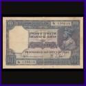 1926, George V, J.B.Taylor, 10 Rupees Note, Rare British India Banknotes