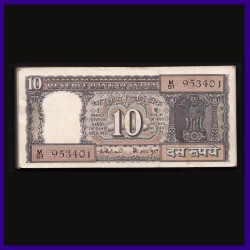 D-18, Full Bundle 10 Rs, K.R.Puri, Boat Note, 100 Notes
