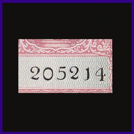 B-2, Rs 2, Fancy Number, BUNC Note, B.Rama.Rau, Incorrect Hindi