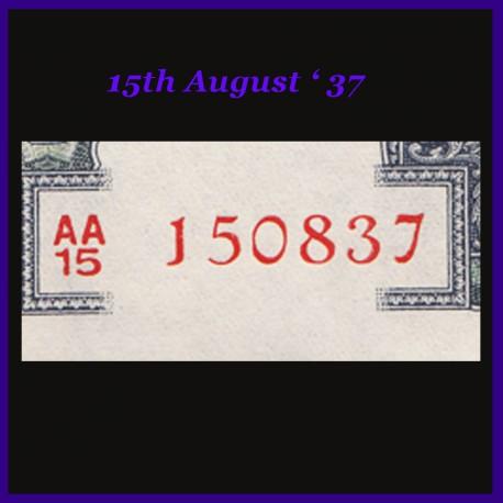 G-12, Birthday Number 100 Rs Note S.Jagannathan, Hirakud Dam Banknote