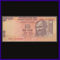 10 Rs Error Note, Printing Shifted On All 4 Sides - Bimal Jalan
