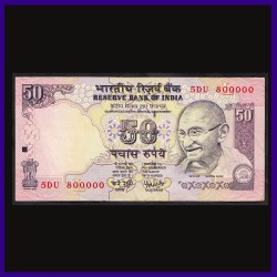 50 Rs 800000 Fancy Numbered Note