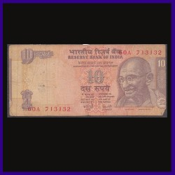 10 Rs Error Note, Printing Shifted - Y. Reddy