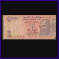 10 Rs Error Note, Printing Shifted - Y. Reddy