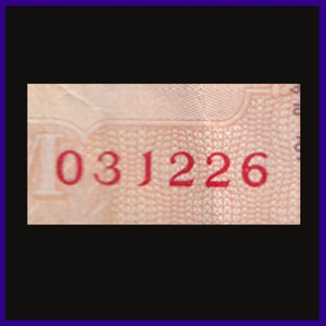 10 Rs Birthday / Anniversary Number Note, 3rd December 26